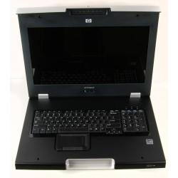 AZ884A HP TFT7600 KVM CONSOLE  (Int. Kbd)