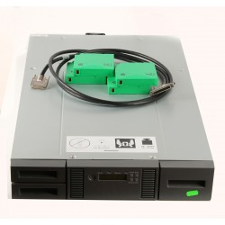 E7W44A HP MSL2024  Tape  Library with tape drive BRSLA-0603-DC, cable, and  4 pcs LT tape