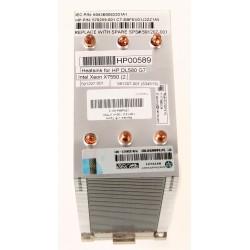 591207-001 Heatsink for HP DL580 G7 Intel Xeon X7550 (2.0 GHz 18MB 8-Core 130W) CPU