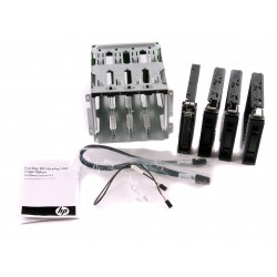 466509-001 HP Hard Drive Cage with Backplane for ml110 g7  (1pc HDD caddy+3pc socket cover)