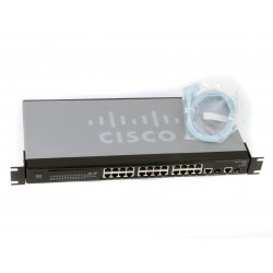 SR224G Cisco SR224G 24-Port 10/100 2-Port Gigabit Switch