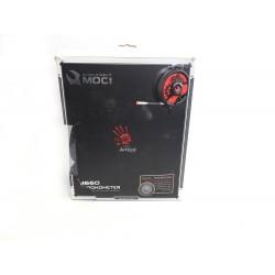 Herní sluchátka A4tech Bloody M660 červeno-černá