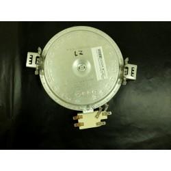 Sporák ELECTROLUX EKC 52550OX - Topné hnízdo - Levé zadní