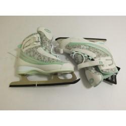 Brusle na led Fila DONNA Skates - zelená