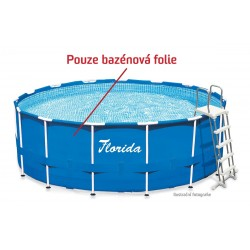 Laminovaná folie bazénu...