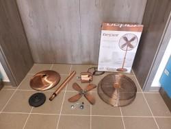 Stojanový ventilátor retro...